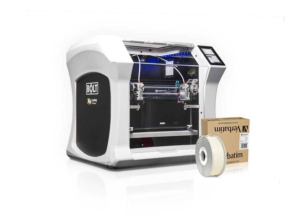Leapfrog and Verbatim Introduce Polypropylene Filament Printing