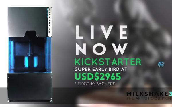 Orbi Lab launches Milkshake3D Kickstarter Campaign