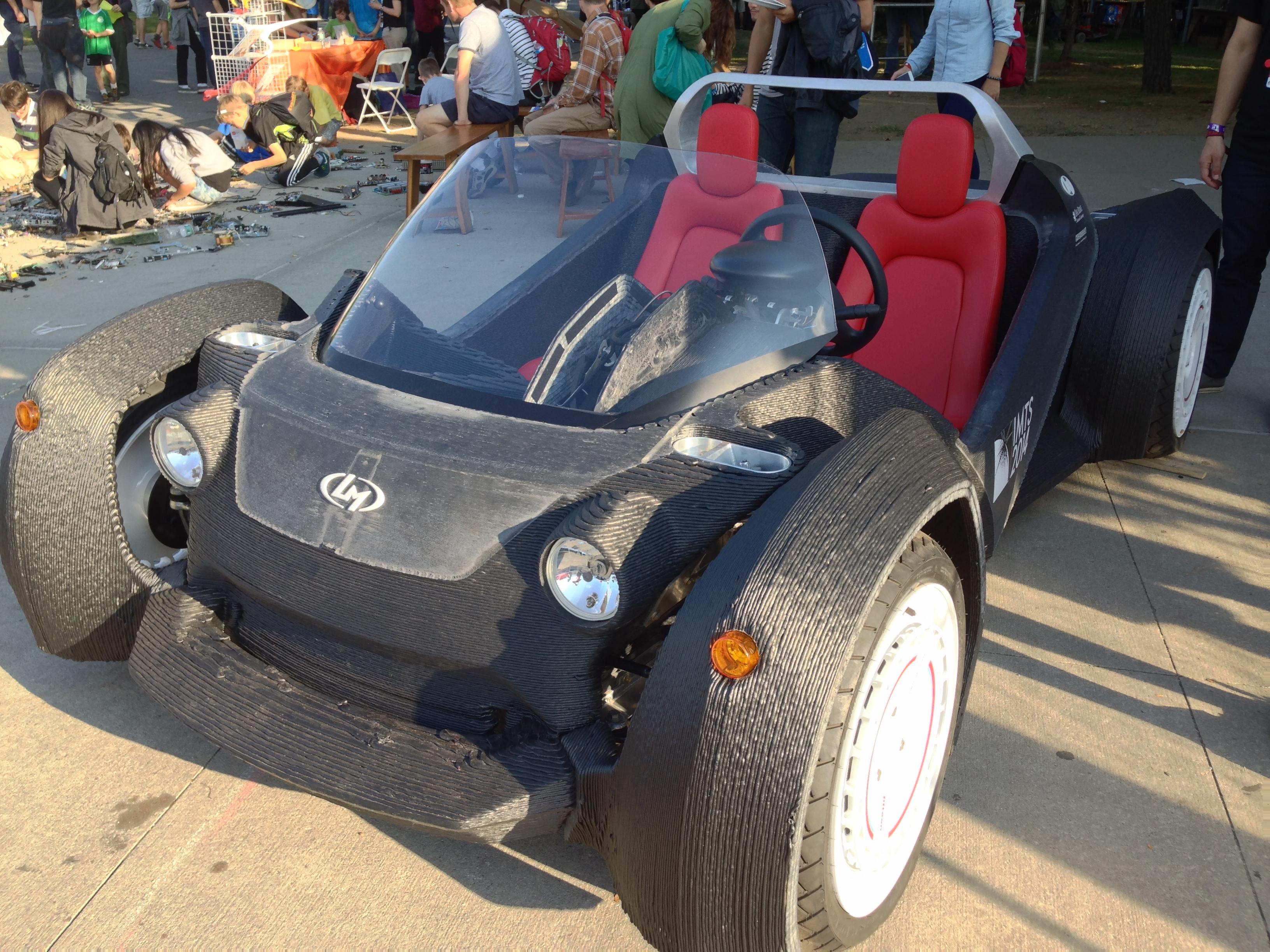 3D Printed Car Design