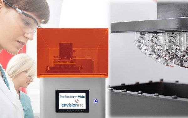 EnvisionTEC Vida – An Exciting Addition to Their Dental 3D Printing Line