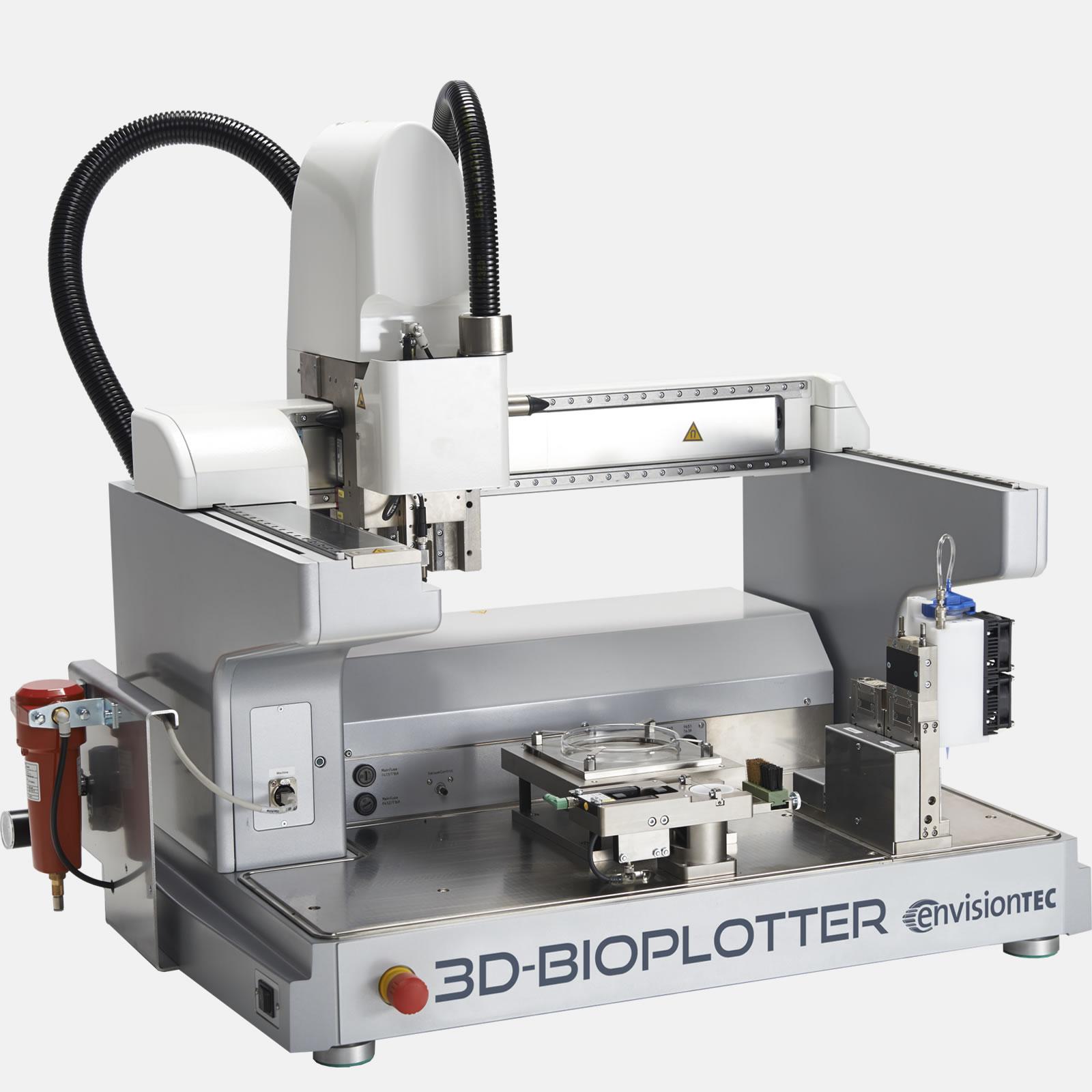 EnvisionTec 3D Bioplotter Mars Lunar Simulant soil