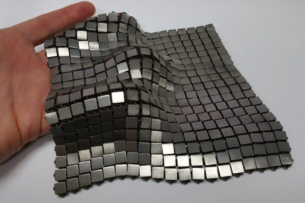 Space Flight NASA Material 4D Fabric 3D Printing
