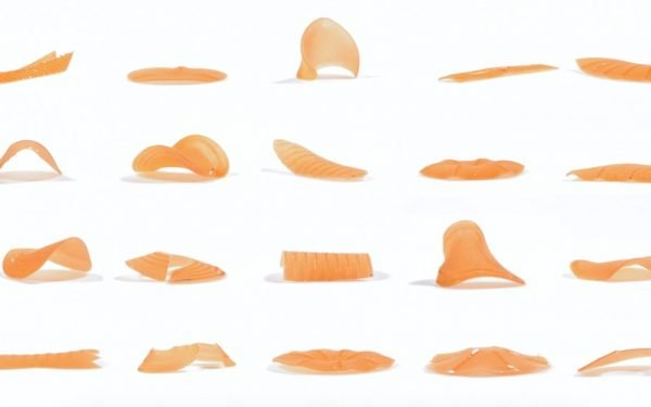 MIT Produces 4D Shapeshifting Pasta