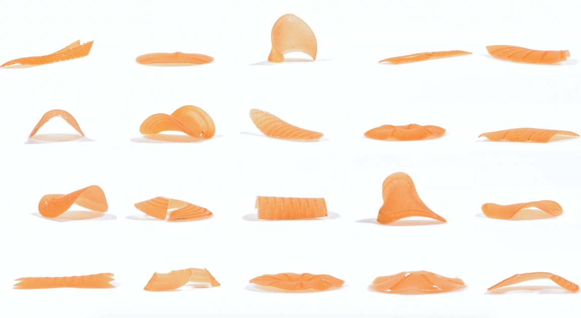 MIT Produces 4D Shapeshifting Pasta