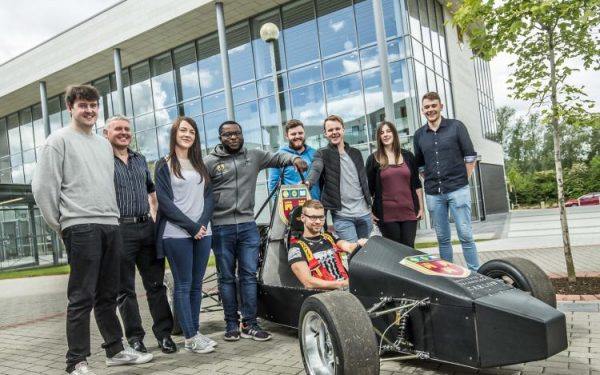 Institute of Technology Carlow Students Build Prototype F1 Racecar