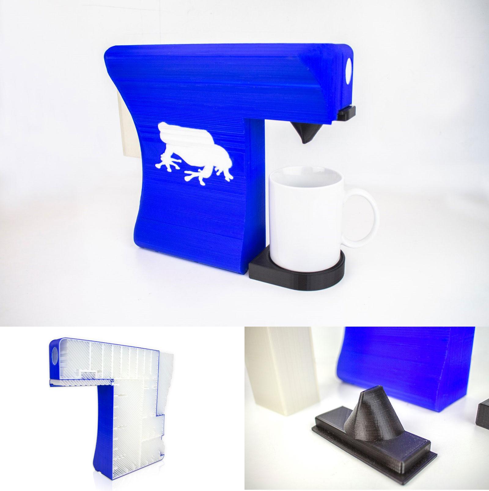 Dual Color Print Leapfrog Bolt
