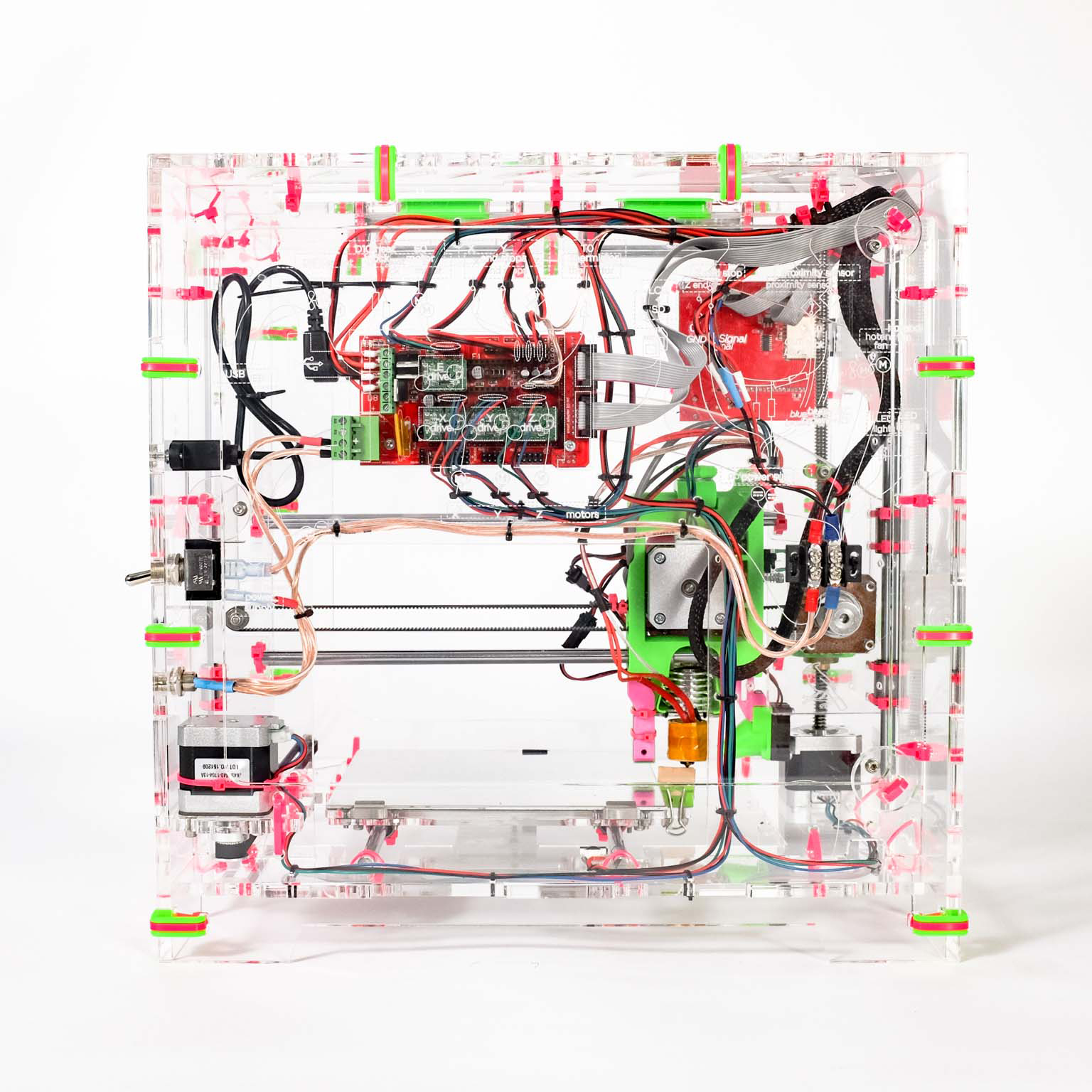Jellybox Easy Build Review 3d Printing Wiring Harness Used For Printer