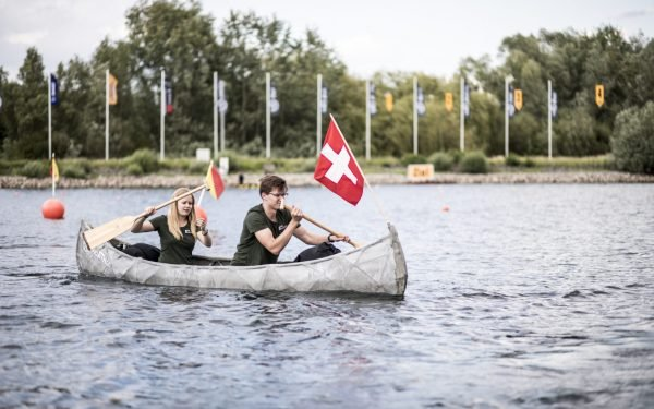 3D Printed Concrete Canoe Wins 1st Place in Design Innovation in German Competition