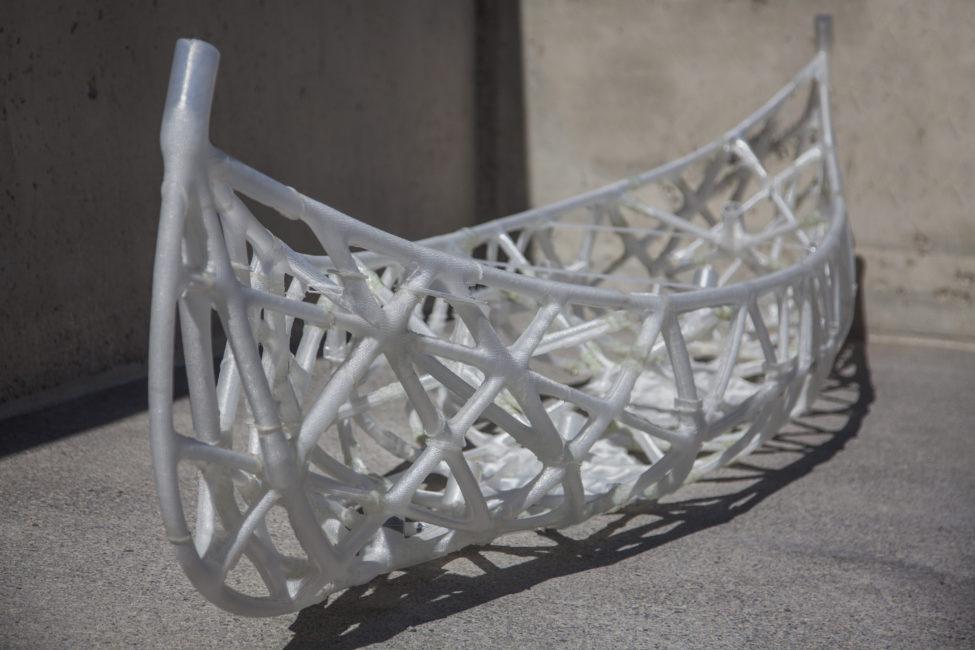 DBT Concrete Canoe 3D Printed Germany