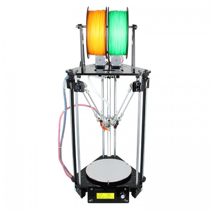 Geeetech Delta Rostock Mini Dual Extruder - Affordable 3D printers