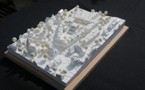 Modular 3D printed cityscape for Ernst Abbe Projekt GmbH