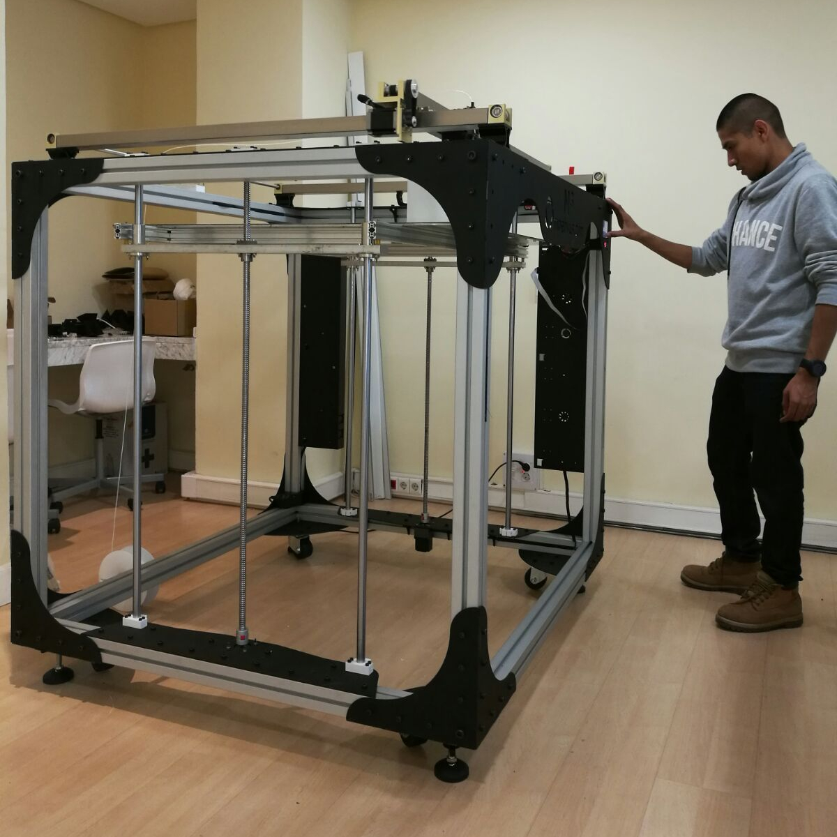10 large scale 3d printers big enough to print furniture for Furniture 3d printing