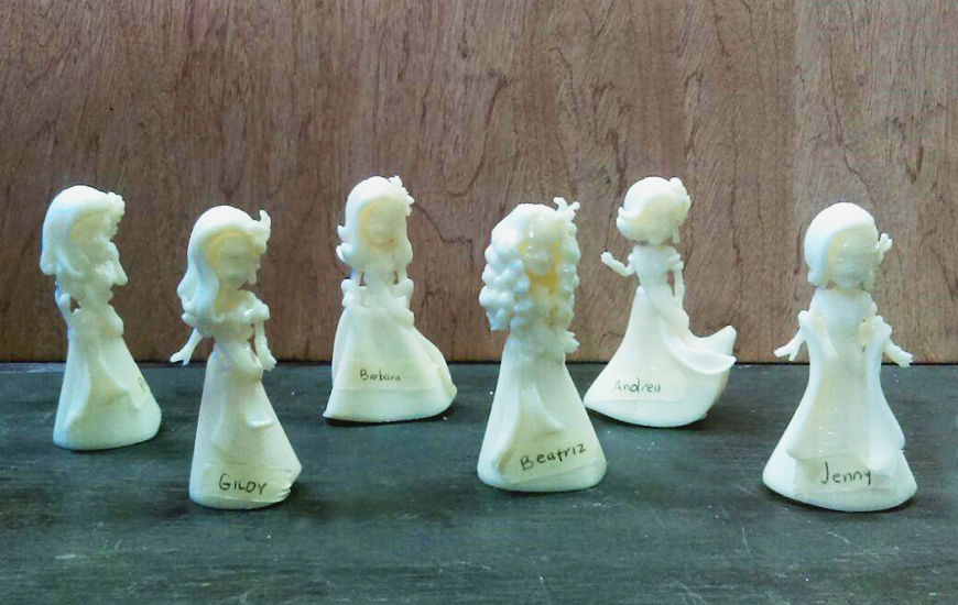 3D printed Figurines with Zortrax M200
