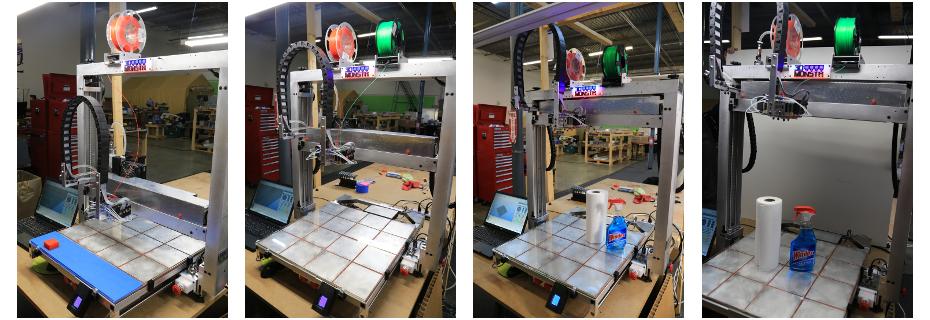 3DMonstr Super-Rex 3D Printer