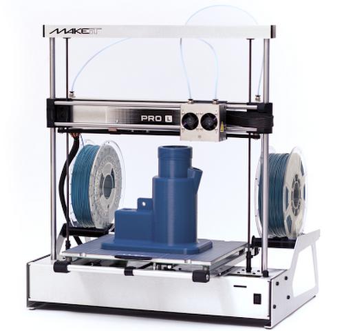 MAKEiT PRO-L DUAL EXTRUDER 3D Printer