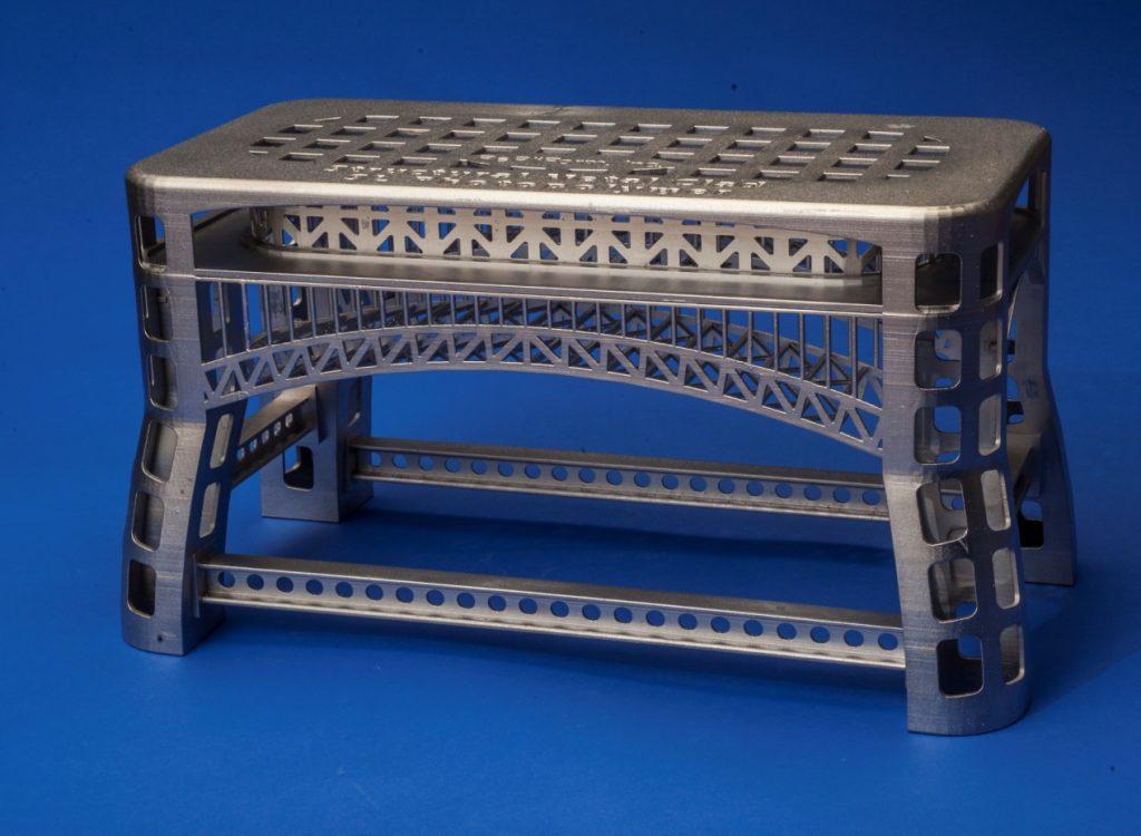 Metal Plated Bridge stool UnionTech