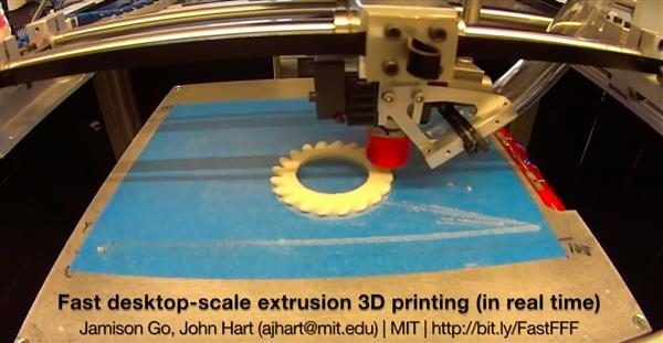 MIT Engineers Develop Laser Assisted, High Speed Filament 3D Printer