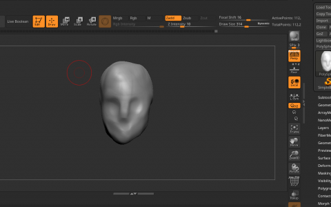 Zbrush Clay Build Up Not Working