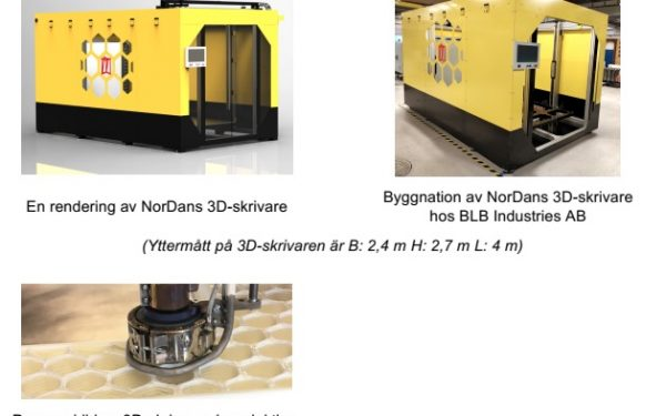 NorDan AB 3D Prints Windows & Doors