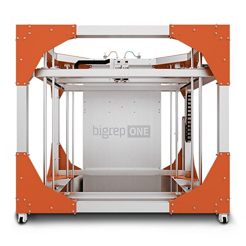 bigrep one v3 large material extrusion 3d printer