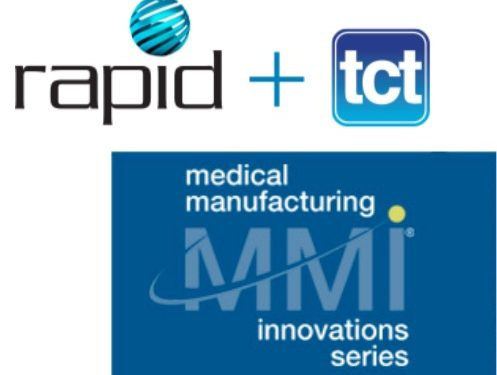 Rapid + TCT's Exhibition Will Feature Major Medical 3D Printing Innovations