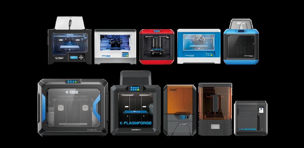 Flashforge Reseller 3D Printer Product Line