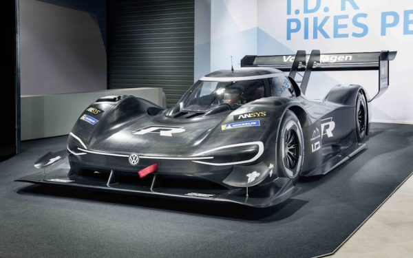 Volkswagen Enters Pikes Peak Hill Climb With 3D Printed Supercar