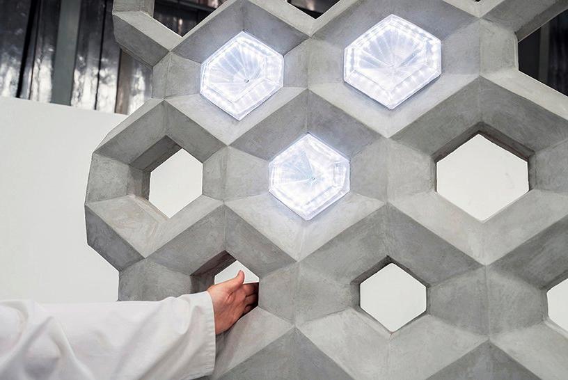 3D printing concrete construction casting elements