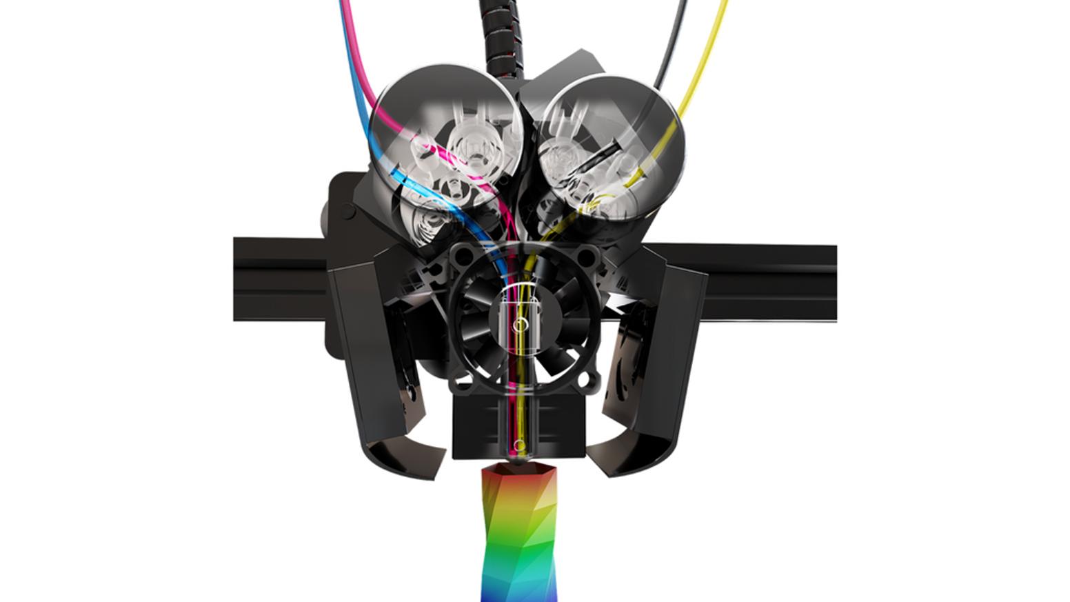 M3d Unveils The Crane Quad A New Color Desktop 3d