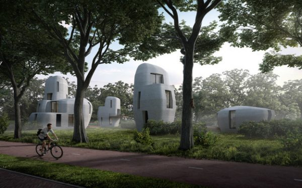 Eindhoven University Set to Develop Full Community of 3D Printed Homes Next Year