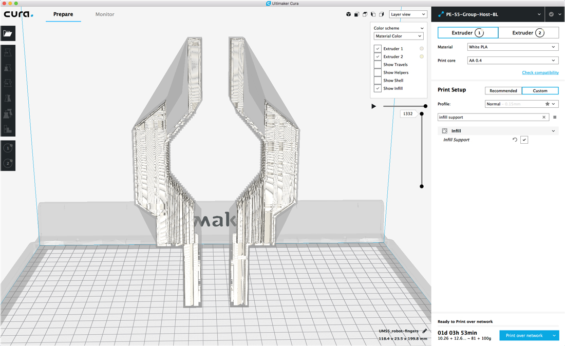 Ultimaker Releases Cura 3 4 Beta With New Features - 3D Printing