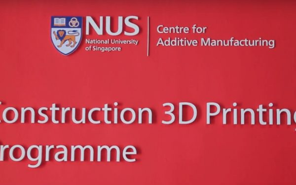 Singapore University Announces New Construction Printing Program