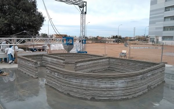 Be-More-3D Presents Spain's First 3D Printed House