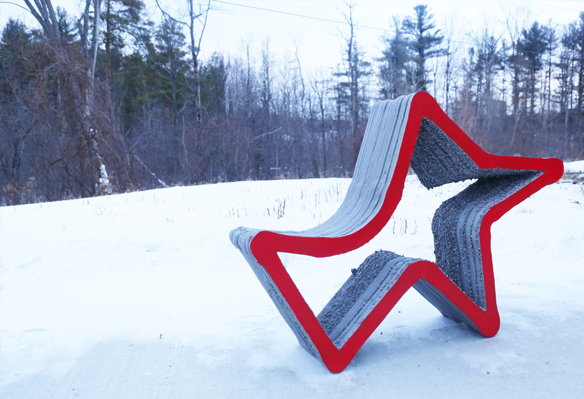 HANNAH Brings 3D Printed Furniture to Socrates Park