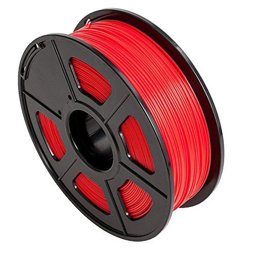 Sunlu ABS Filament, 1.75mm, 1.0kg Spool, Red