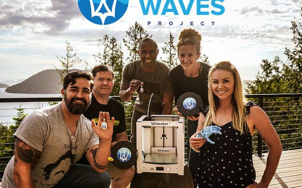 Million Waves Project Uses Ocean Plastic to Print $45 Prosthetics