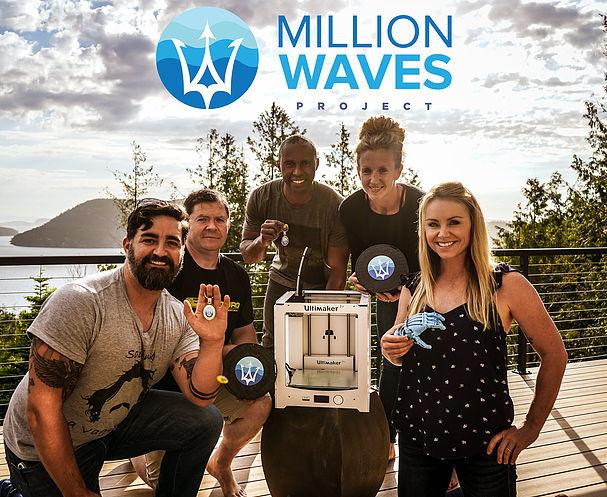 Million Waves Project Uses Ocean Plastic to Print $45 Prosthetics