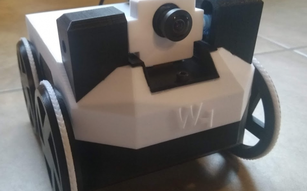 Designer Builds Watney: Fully 3D Printed Rover