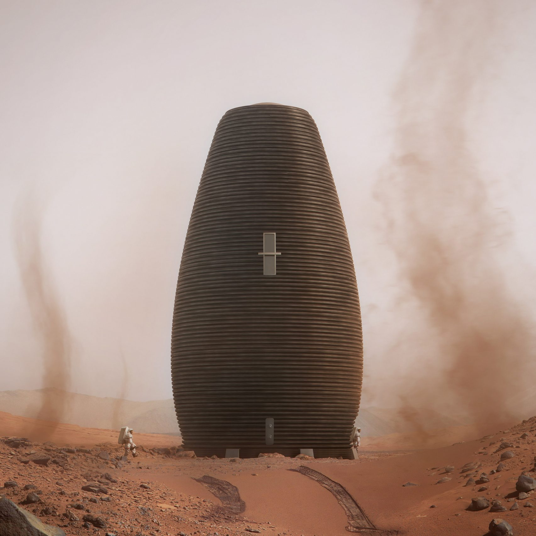 NASA Announces 3D Printed Habitat Competition Winners