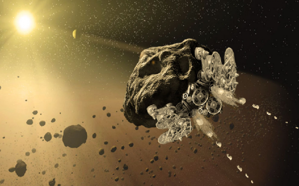 NASA Funding Project For Asteroid 3D Printing