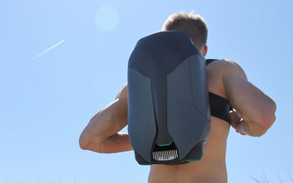Design Student 3D Prints Underwater Jet Pack