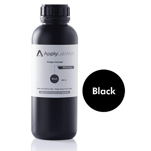 ApplyLabWork UV Resin, 405nm, 1 Liter, Black