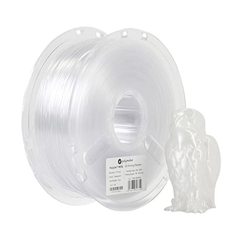 Polymaker PolyLite PETG Filament, 1.75mm, 1.0kg Spool, Clear