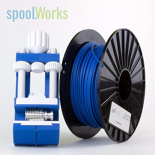 spoolWorks MatX ASA Filament, 1.75mm, 750g Spool, Blue