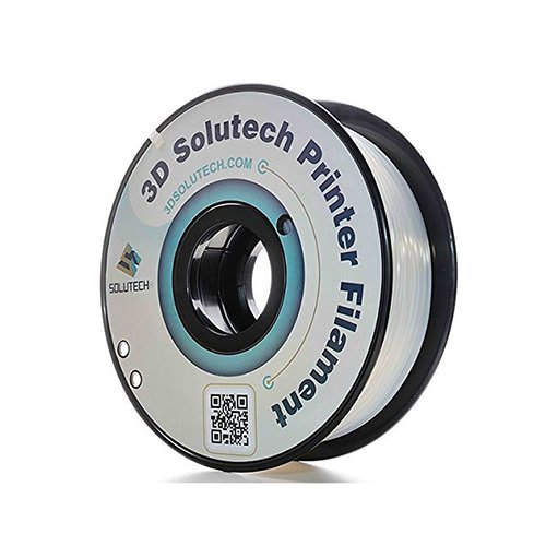 3D Solutech ABS, 1.0kg Spool, Clear