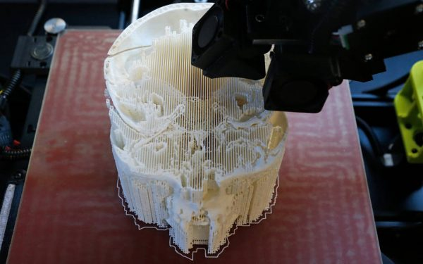 Forensic Artist Uses 3D Printer to Reconstruct Remains