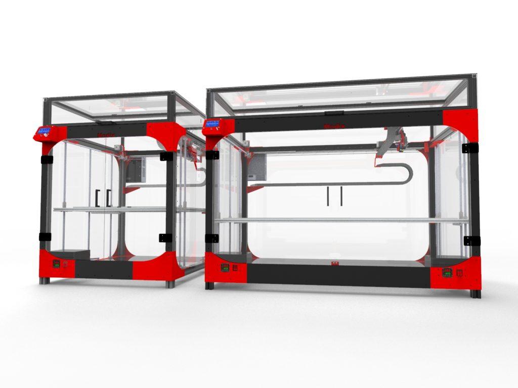 Modix Unveils X120 Extra Large 3D Printer