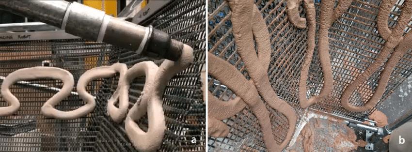 SCRIM Concrete Printing Robots Build Lightweight Structures