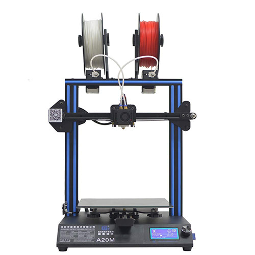 geeetech a20m mix ectruder 3d printer
