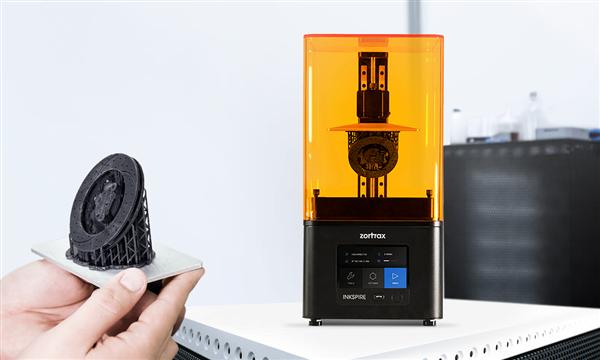 Inkspire: Zortrax Unveils First Resin DLP Printer